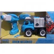 Carro Controle Remoto Jovem Mecanico RC Tooling Coleta Lixo Candide 3554