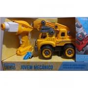 Carro Controle Remoto Jovem Mecanico RC Tooling Guindaste Candide 3554