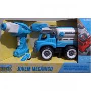 Carro Controle Remoto Jovem Mecanico RC Tooling Tanque Candide 3554
