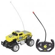 Carro Controle Remoto sem Fio PICK UP Amarelo DM TOYS DMT5058