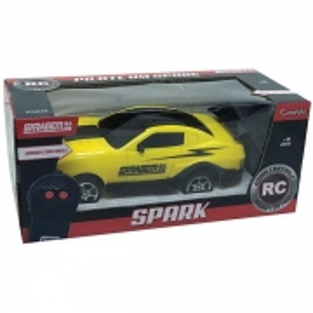 Carro Controle Remoto SPARK Amarelo Candide 3539