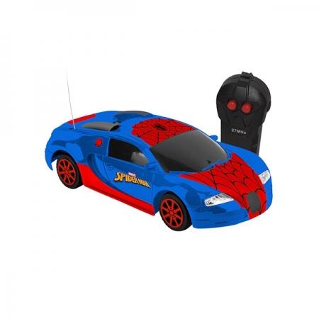 Carro Controle Remoto WEB STORM 3 Spider MAN Candide 5853