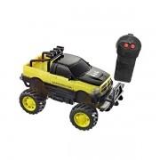 Carro de Controle Remoto Demolition Amarelo Candide 3560