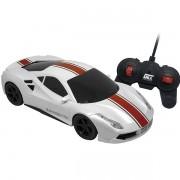 Carro de Controle Remoto Speed STORM com 7 Funçoes BRANCO/VERMELHO Candide 3517