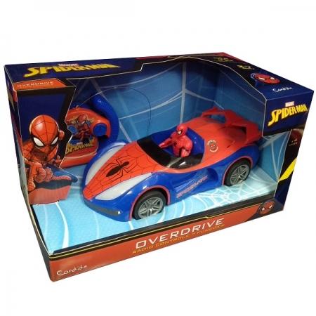 Carro de Controle Remoto Spider MAN Overdrive Candide 5845
