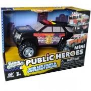 Carro de Policia STAR com Som e LUZ SHINY TOYS 525