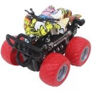 Carro Fricçao Quadriciclo CROSS Roda Vermelha DM TOYS DMT5920