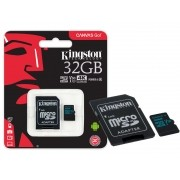 Cartao de Memoria Classe 10 Kingston SDCG2/32GB Micro SDHC 32GB 90R/45W UHS-I U3 V30 Canvas GO