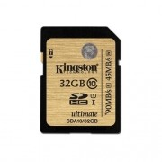 Cartao de Memoria Kingston SDHC 32GB Classe 10 Ultimate - SDA10/32GB