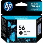 Cartucho HP 56 Jato de Tinta Preto 19,5ML  - C6656AB