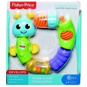 Centopeia Encaixa e Puxa Fisher Price Mattel W9834