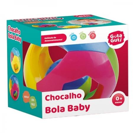 Chocalho Bola BABY DM TOYS DMB5808