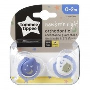 Chupeta Newborn NIGHT 0-2 Meses Tommee Tippee Roxo 2 Unidades 533356