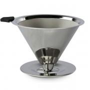 Coador de Café Pour OVER INOX TAM. 101 - Não Precisa Filtro