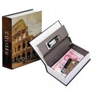 Cofre Livro Camuflado Coliseu Unyhome OR200202