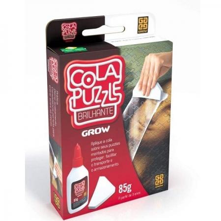 Cola para QUEBRA-CABEÇA Puzzle Brilhante GROW 1989