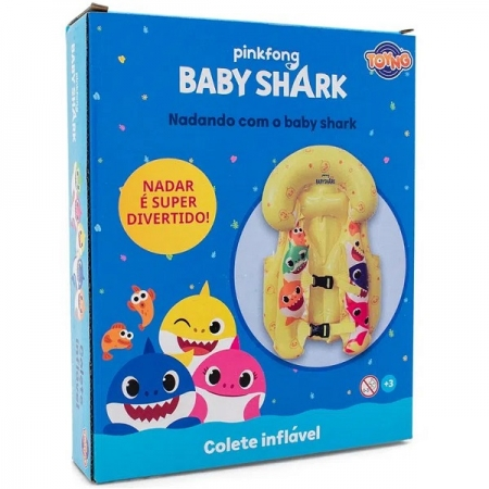 Colete Inflavel BABY SHARK TOYNG 40138