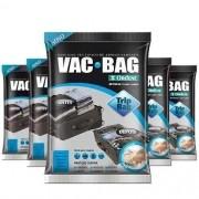 Combo: 5 Saco a Vácuo Protetor TRIP VAC BAG 60 X 40 Ordene 55000