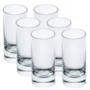 Conjunto de Copos para SHOT Cristal Barware 6 Peças 60ML Bohemia 24151