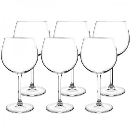 Conjunto de Taças para GIN Tonica Cristal Ecologico 570ML 6 Peças Bohemia 56081