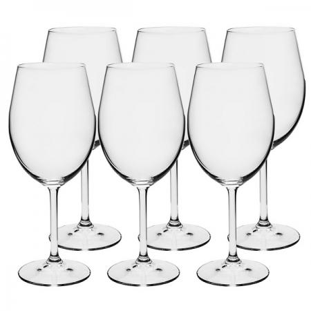Conjunto de Taças para Vinho Branco em Cristal Ecologico 350ML Bohemia 56112