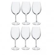 Conjunto de Taças para Vinho Tinto 450ML ANNA 6 Peças Nova Bohemia 58000