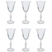 Conjunto de Taças Vinho Branco Fregata Cristal 185ML 6 PÇS Bohemia 57959
