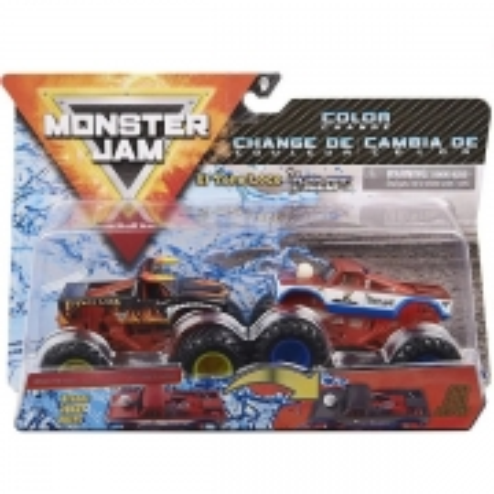 Conjunto de Veiculo Monster JAM EL Toro X CYCLOPS SUNNY 2020