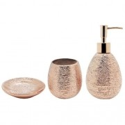 Conjunto para Banheiro Lunar Bronze Mimo STYLE BH1779B 5998