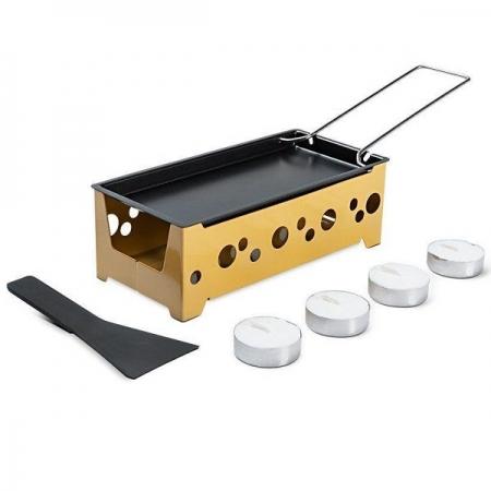 Conjunto Raclette 7 Peças Amarelo Brinox Amarelo Brinox 1256/106