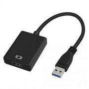 Conversor USB Macho X HDMI Femea Multilaser WI347
