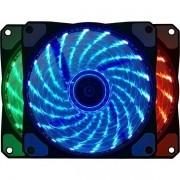Cooler FAN Gamer para Gabinete com LED RGB Bluecase BF-06RGB