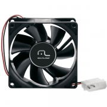 Cooler para Gabinete 80 X 80MM Sleeve Bearing Multilaser GA044