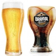 Copo Brahma BLACK + Copo Budweiser Globimport