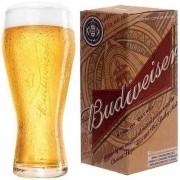 Copo Budweiser em Vidro para Cerveja 400ML Globimport