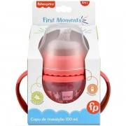 Copo de Transiçao Fisher Price FIRST Moments 150ML Rosa Multikids BB1056