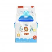 Copo de Treinamento Fisher Price FIRST Moments 270ML AZUL Multikids BB1014