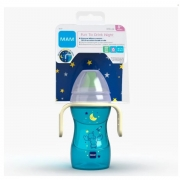 Copo de Treinamento FUN TO DRINK NIGTH 270ML AZUL MAM 4237
