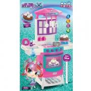 Cozinha Infantil MEG DOLL Magic TOYS 8012