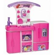 Cozinha MEG Infantil Versatil Super Magic TOYS 8031