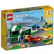 Creator 3 em 1 Transportador de Carros de Corrida 31113