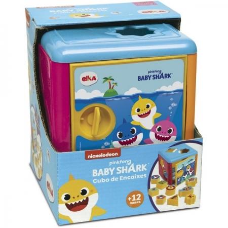 Cubos de Encaixe BABY SHARK ELKA 1184