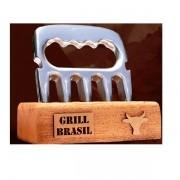 Desfiador de Carne para Churrasco Garra GRILL Brasil