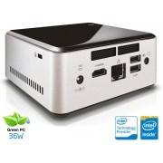 Desktop NUC INTEL Ultratop CN28304500 Dual Core N2830 4GB HD 500GB HDMI USB Rede Linux