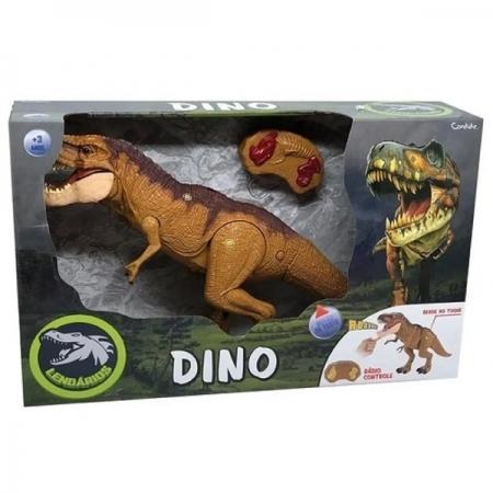Dinossauro Eletronico Lendarios com Controle Remoto Dino Candide 1111
