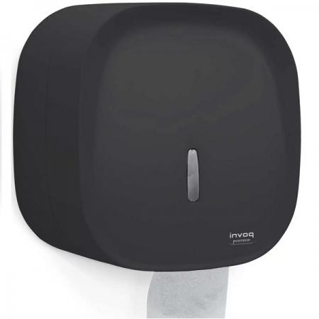 Dispenser Papel Higienico Rolao Preto INVOQ Premisse C20031