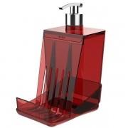 Dispenser para Detergente SMART Vermelho Crippa