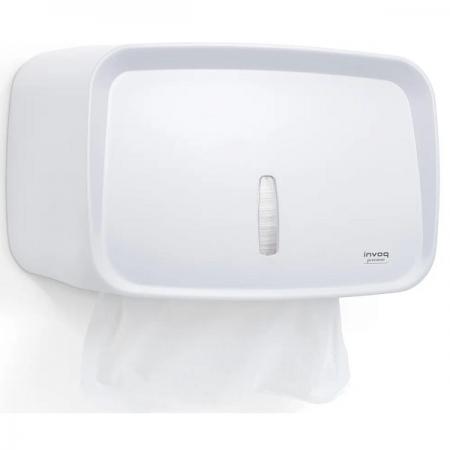 Dispenser Toalheiro Compacto INVOQ Branco Premisse C20060