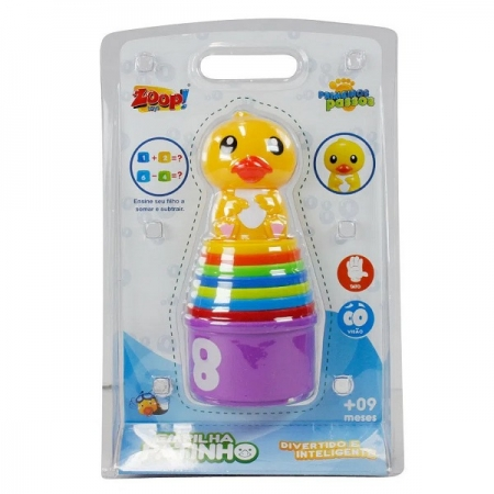 Empilha Patinho Zoop TOYS ZP00119