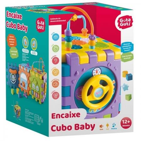 Encaixe Cubo BABY Guta Guti DM TOYS DMB5798